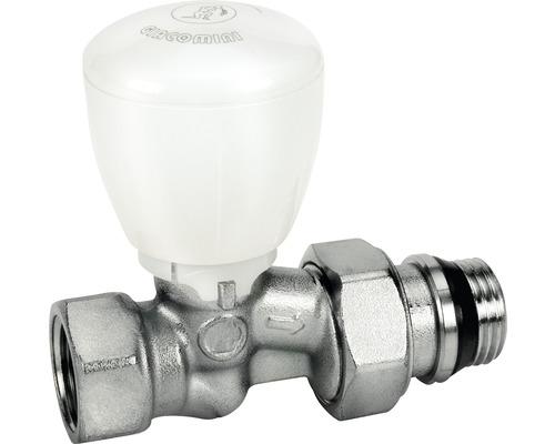 "Termostatický ventil přímý s ruční hlavou Giacomini 1/2"", chrom R422X133"