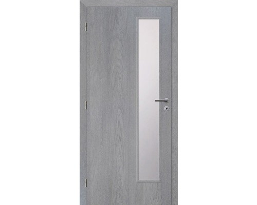 Interiérové dveře Solodoor Zenit 22 prosklené 90 L fólie earl grey (VÝROBA NA OBJEDNÁVKU)