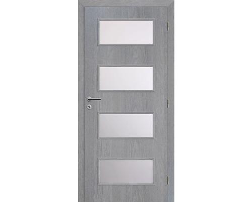 Interiérové dveře Solodoor Zenit 28 prosklené 60 P fólie earl grey (VÝROBA NA OBJEDNÁVKU)