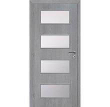 Interiérové dveře Solodoor Zenit 28 prosklené 80 L fólie earl grey