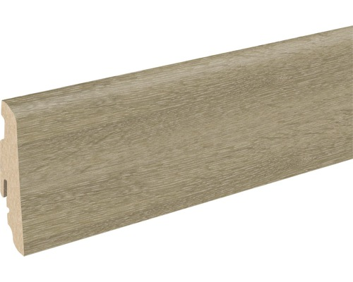Soklová lišta Skandor multilamela světlá FU60L 19x58x2400 mm