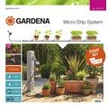 Startovací sada Gardena pro terasy a balkony