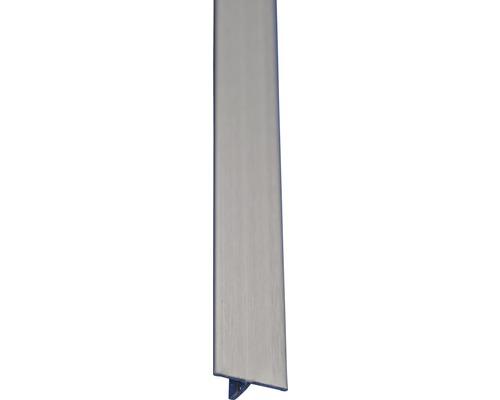 Lišta nerez T profil 14x2500 mm kartáčovaná