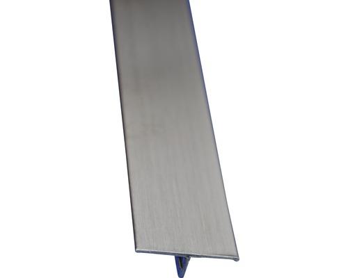 Lišta nerez T profil 25x2500 mm kartáčovaná