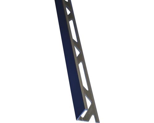 Lišta ALU L 12x2500 mm elox oliva