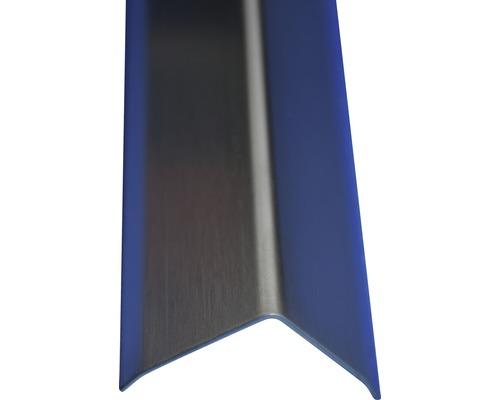 Lišta nerez L 20x20x2500 mm kartáčovaná