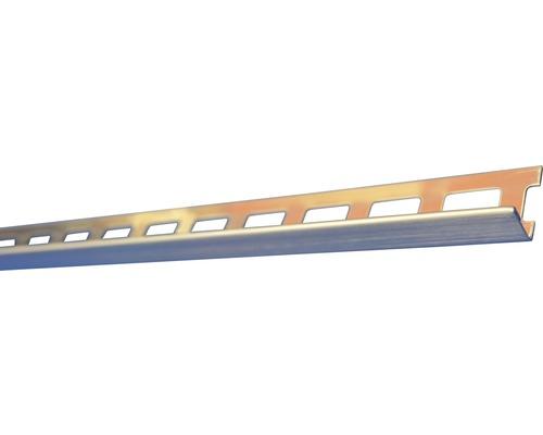 Lišta nerez L 10x1250 mm kartáčovaná