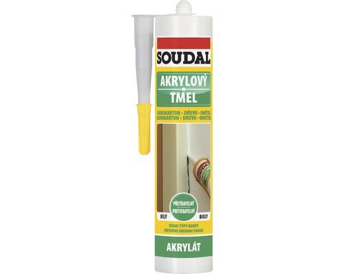 Akrylový tmel SOUDAL DIY 280 ml bílý