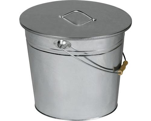 Kbelík na popel LIENBACHER, ocelový plech 15 l