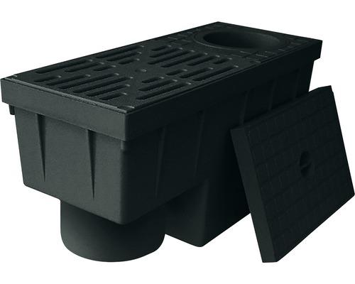 Geiger RSK 2000 s odnímatelným sifonovým uzávěrem, černá