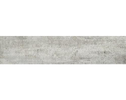 Kobercová dlaždice Forrest 090 světle šedá 25x100 cm