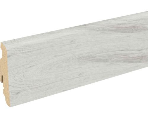 Soklová lišta Skandor dub antická šedá FU60L 19x58x2400 mm