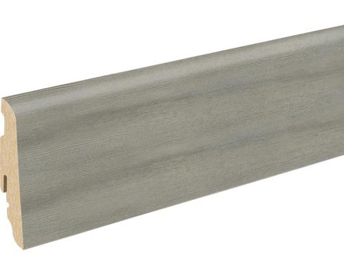 Soklová lišta Skandor Toscany Pine Grey FU60L 19x58x2400 mm