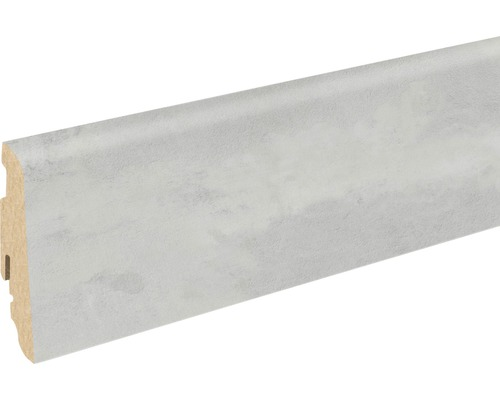 Soklová lišta Skandor Beton Clair FU60L 19x58x2400 mm