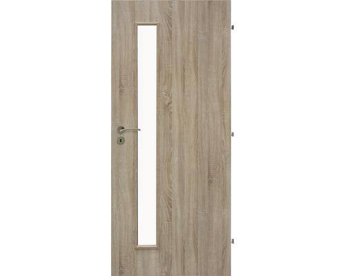 Interiérové dveře Sierra prosklené 90 P dub sonoma (VÝROBA NA OBJEDNÁVKU)