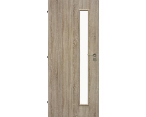 Interiérové dveře Sierra prosklené 90 L dub sonoma (VÝROBA NA OBJEDNÁVKU)