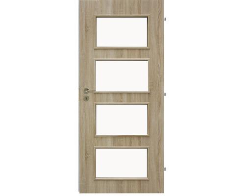 Interiérové dveře Colorado 5 prosklené 70 P dub sonoma (VÝROBA NA OBJEDNÁVKU)