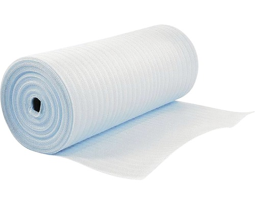 Izolační podložka pod podlahy 5 mm bílá role 25 m²