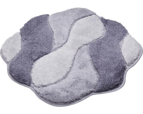 Koupelnová předložka CARMEN 60x60 cm šedá