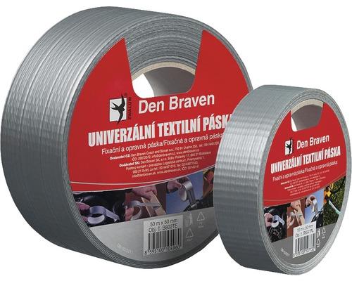 Těsnicí páska textilní DEN BRAVEN univerzální 50 mm x 10 m