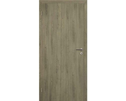 Interiérové dveře bezfalcové Solodoor Klasik plné 70 L fólie dub portorico