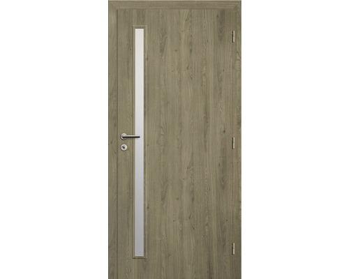 Interiérové dveře Solodoor Zenit 20 prosklené 70 P fólie dub portorico