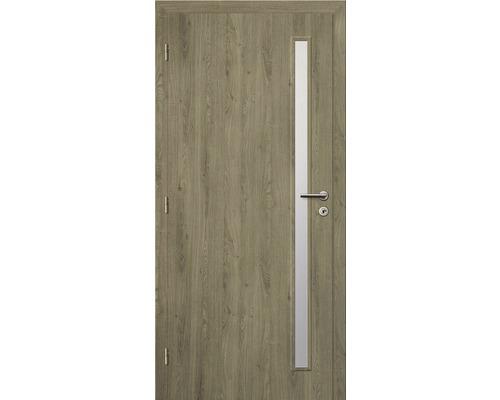 Interiérové dveře Solodoor Zenit 20 prosklené 60 L fólie dub portorico