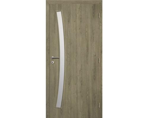 Interiérové dveře Solodoor Zenit 21 prosklené 70 P fólie dub portorico