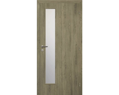 Interiérové dveře Solodoor Zenit 22 prosklené 60 P fólie dub portorico