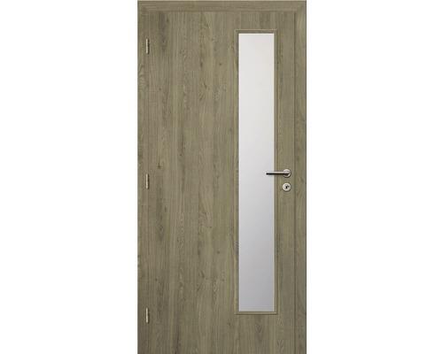 Interiérové dveře Solodoor Zenit 22 prosklené 80 L fólie dub portorico