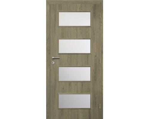 Interiérové dveře Solodoor Zenit 28 prosklené 60 P fólie dub portorico