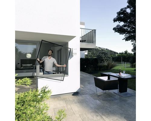 Ochrana proti hmyzu - okno Plus 140x150 cm, antracit