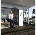 Ochrana proti hmyzu - dveře 100x210 cm, antracit