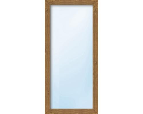 Balkónové dveře plastové jednokřídlé ARON Basic bílé/golden oak 700 x 2000 mm DIN levé