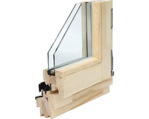 Dřevěné okno euro OS1A 90 x 120 cm pravé, borovice