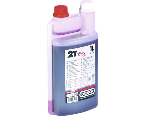 Motorový olej OREGON 2T polosyntetický 1 l vč. odměrky