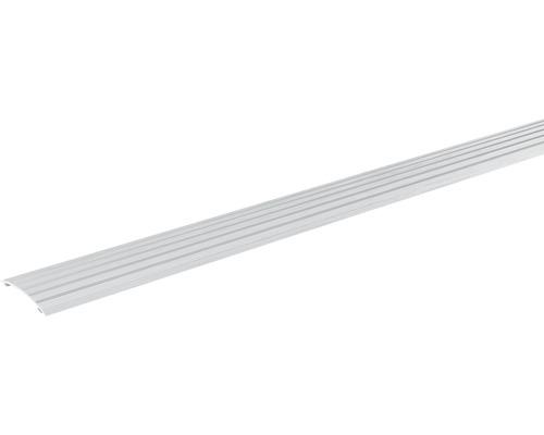 Přechodová lišta vyrovnávací Skandor samolepicí 2700 x 40 x 5 mm stříbrná