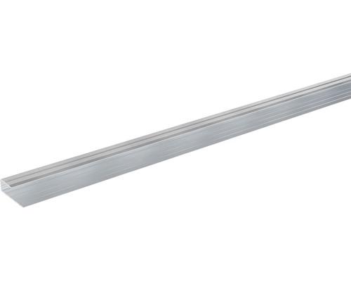 Ukončovací lišta lemovací Skandor 2700 x 29 x 9 mm stříbrná