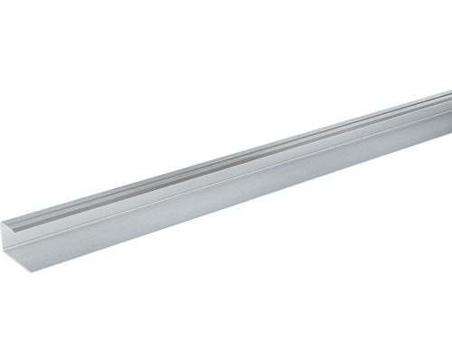 Ukončovací lišta lemovací Skandor 2700 x 29 x 17 mm stříbrná