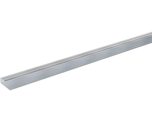 Ukončovací lišta lemovací Skandor 900 x 29 x 9 mm stříbrná