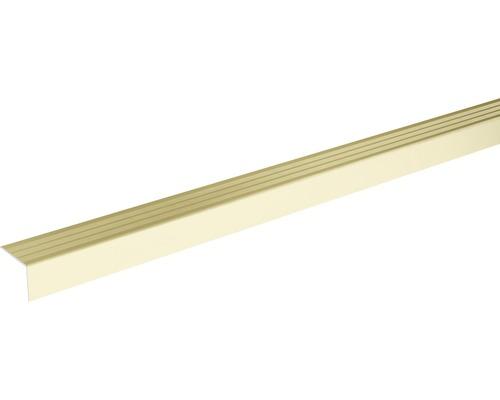 Ukončovací lišta schodová Skandor samolepicí 900 x 24,5 x 20 mm champagne