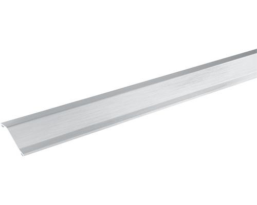 Přechodová lišta vyrovnávací Skandor samolepicí 900 x 30 x 11 mm stříbrná