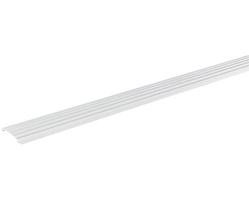 Přechodová lišta vyrovnávací Skandor samolepicí 900 x 40 x 5 mm stříbrná