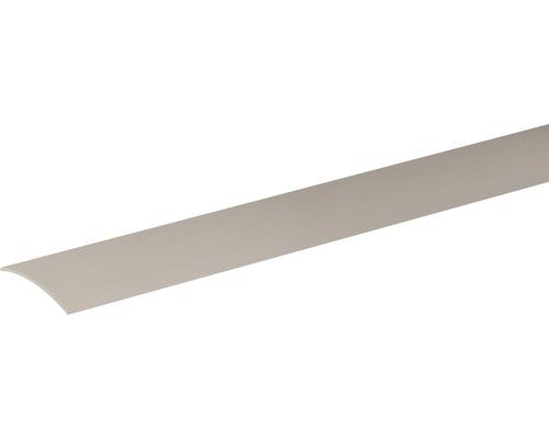 Přechodová lišta vyrovnávací Skandor samolepicí 900 x 40 x 5 mm nerez kartáčovaná