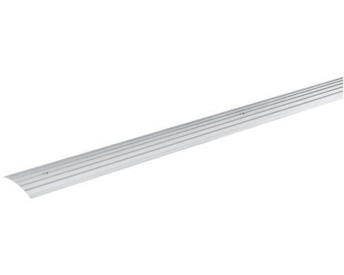 Přechodová lišta vyrovnávací Skandor šroubovací 900 x 40 x 5 mm stříbrná