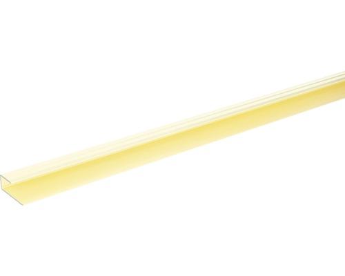 Ukončovací lišta lemovací Skandor 900 x 29 x 11 mm champagne