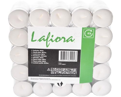 Čajové svíčky Lafiora 4h 100 ks