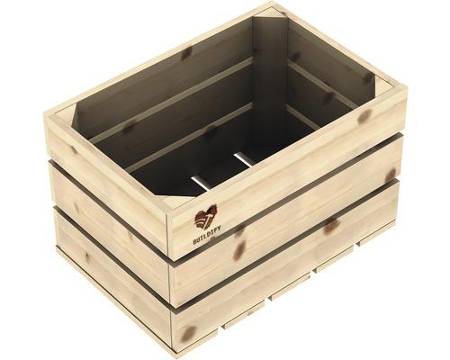 Dřevěná bedna Buildify 34x23x21cm