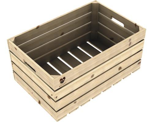 Dřevěná bedna Buildify 60x39x30cm