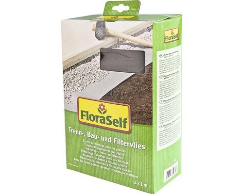Netkaná textilie separační, stavební a filtrační FloraSelf 3x1 m 130g/m²